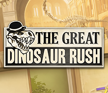 The Great Dinosaur Rush- Logo and Player Screens