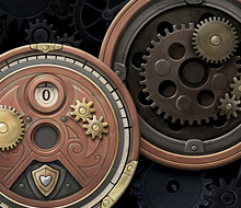 Steampunk Rally – Damage Dial