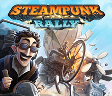 Steampunk Rally – Box Cover